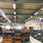 LED交換後の工場内