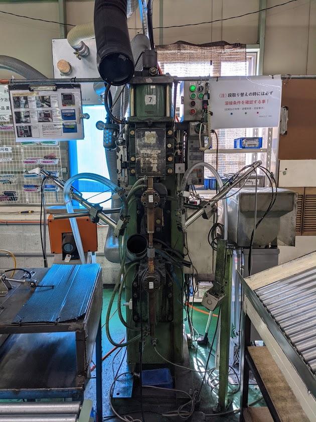スポット溶接機・50KVA YR-50