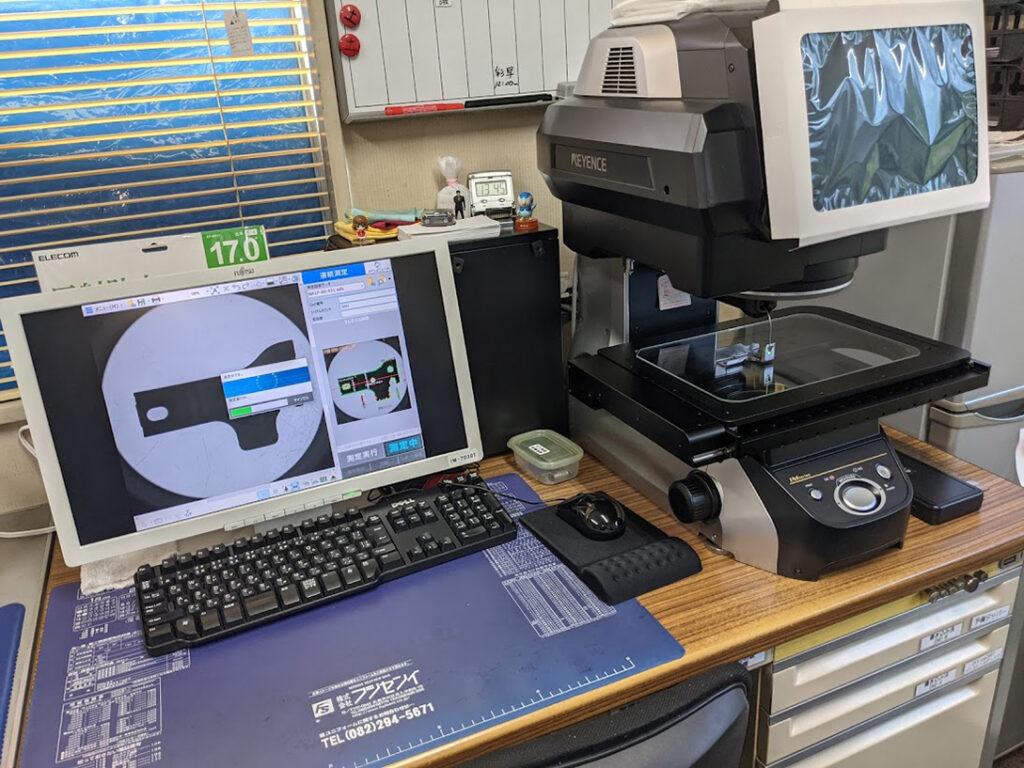 画像寸法測定器 300×200mm(広視野測定モード) IM-7030T