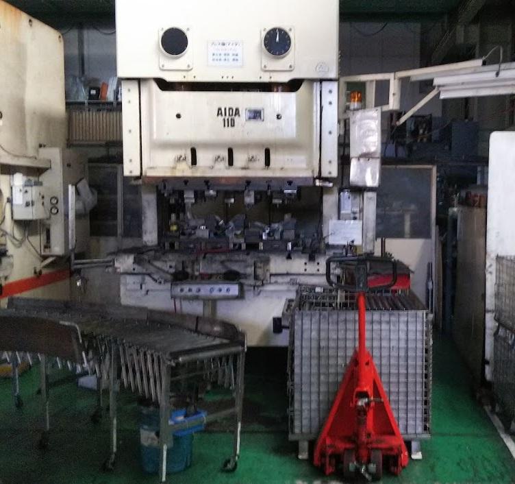 タンデムプレス110トン NC2-110(2)